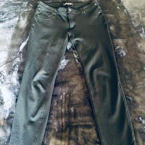 Active USA black stretch skinny pants